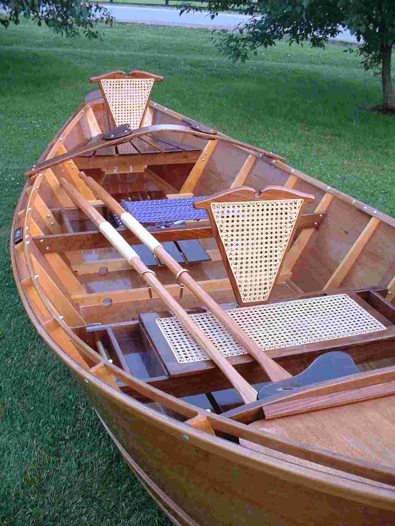 Homemade Wooden Boats Building a wooden flyfishing