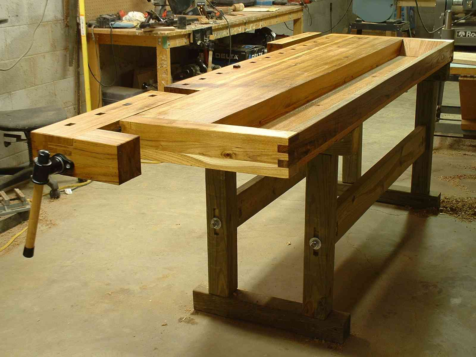 Woodworking Plans Project: Wood work bench pics